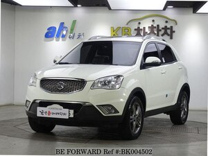 Used 2012 SSANGYONG KORANDO BK004502 for Sale