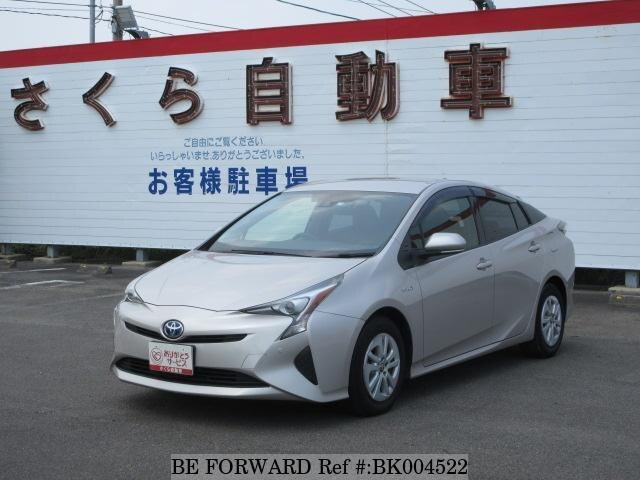 Used 2017 TOYOTA PRIUS BK004522 for Sale