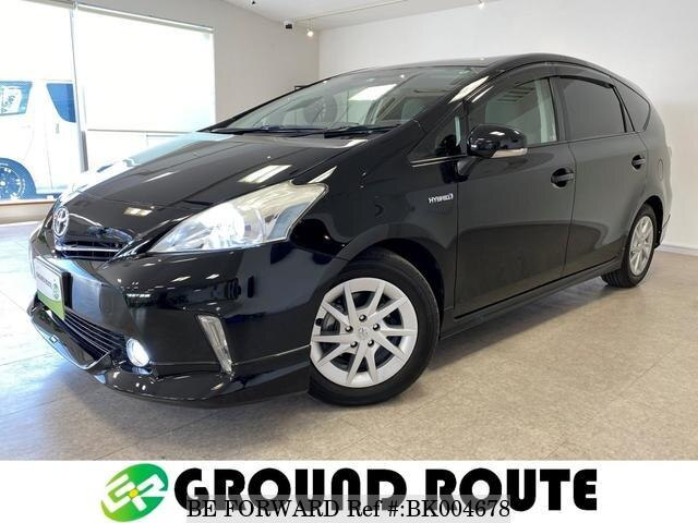 Used 2013 TOYOTA PRIUS ALPHA BK004678 for Sale