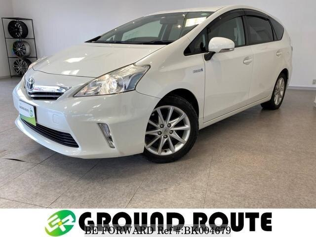 Used 2012 TOYOTA PRIUS ALPHA BK004679 for Sale
