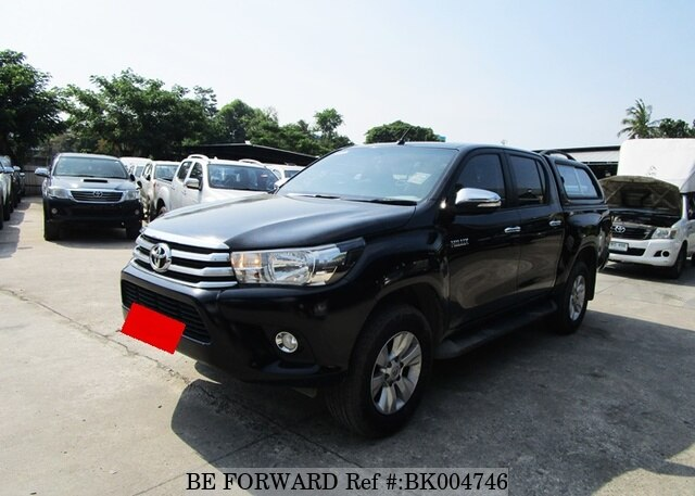 Used 2015 TOYOTA HILUX BK004746 for Sale