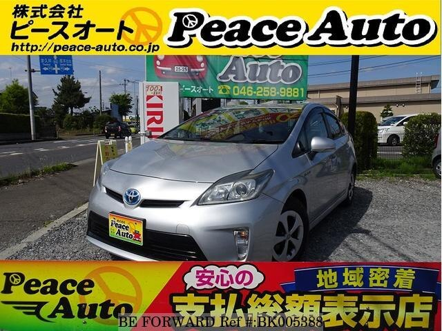 Used 2012 TOYOTA PRIUS BK005388 for Sale