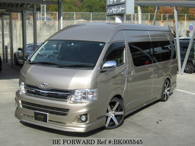 Used 2013 TOYOTA HIACE WAGON BK005545 for Sale