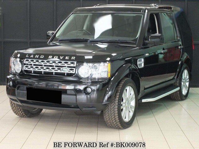 Used 2011 LAND ROVER DISCOVERY 4 BK009078 for Sale