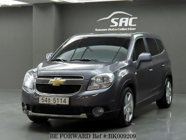 Used 2012 CHEVROLET ORLANDO BK009209 for Sale