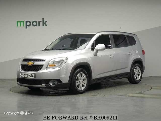 Used 2015 CHEVROLET ORLANDO BK009211 for Sale