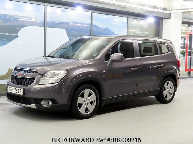 Used 2012 CHEVROLET ORLANDO BK009215 for Sale