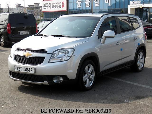 Used 2013 CHEVROLET ORLANDO BK009216 for Sale