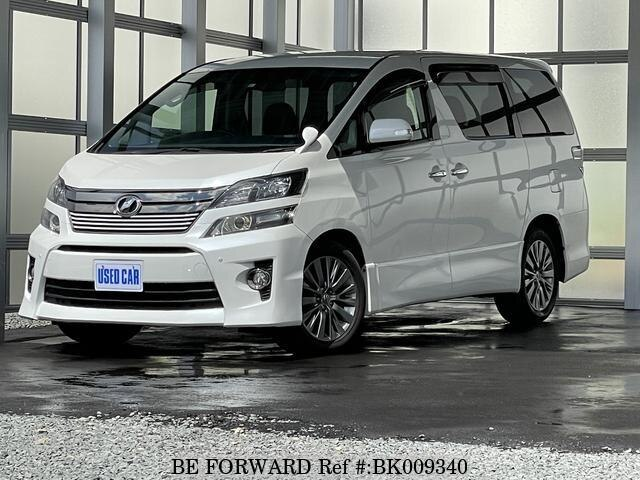 Used 2013 TOYOTA VELLFIRE BK009340 for Sale