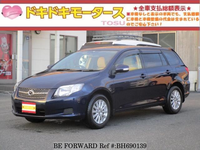 Used 2006 TOYOTA COROLLA FIELDER BH690139 for Sale