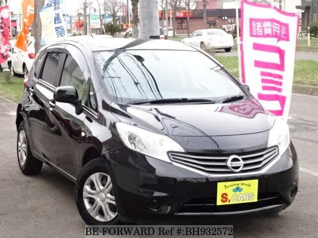 Used 2013 NISSAN NOTE BH932572 for Sale