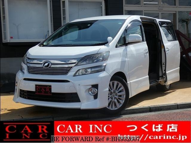 Used 2012 TOYOTA VELLFIRE BH932607 for Sale