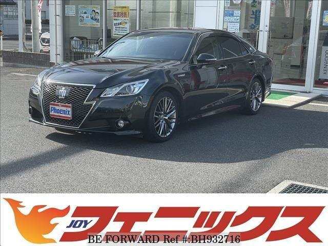 Used 2014 TOYOTA CROWN HYBRID BH932716 for Sale