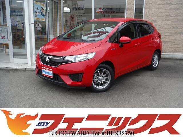 Used 2015 HONDA FIT HYBRID BH932750 for Sale