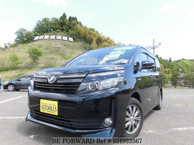 Used 2014 TOYOTA VOXY BH933567 for Sale