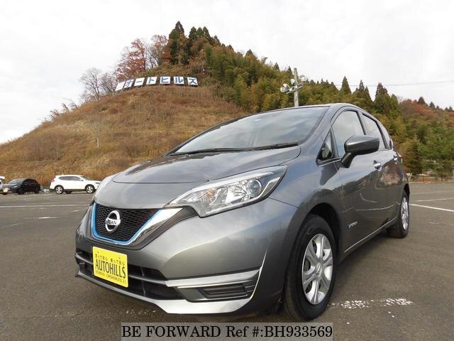Used 2018 NISSAN NOTE BH933569 for Sale