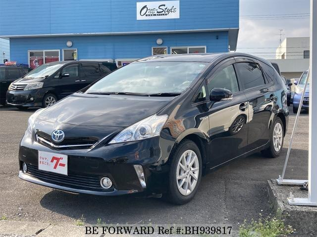 Used 2012 TOYOTA PRIUS ALPHA BH939817 for Sale