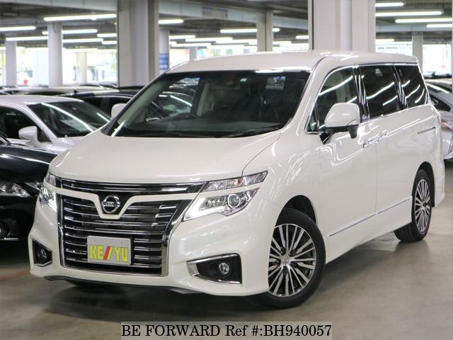 Used 2019 NISSAN ELGRAND BH940057 for Sale
