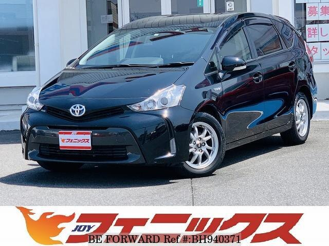 Used 2015 TOYOTA PRIUS ALPHA BH940371 for Sale