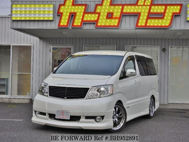 Used 2004 TOYOTA ALPHARD BH952891 for Sale