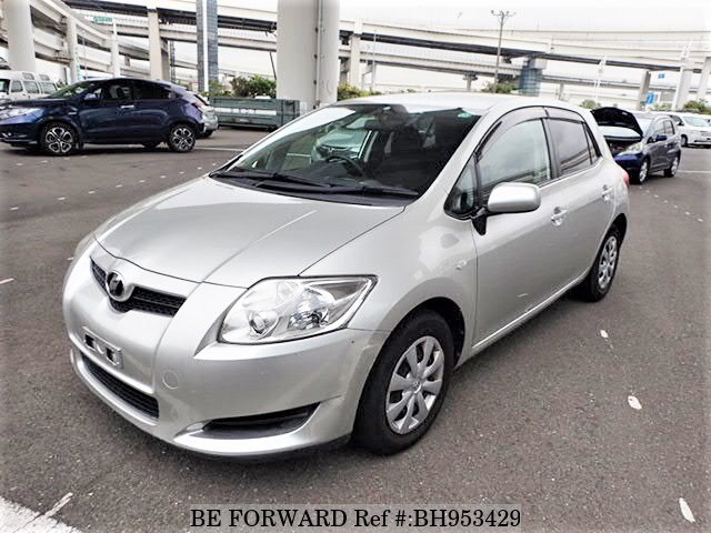 Used 2008 TOYOTA AURIS BH953429 for Sale