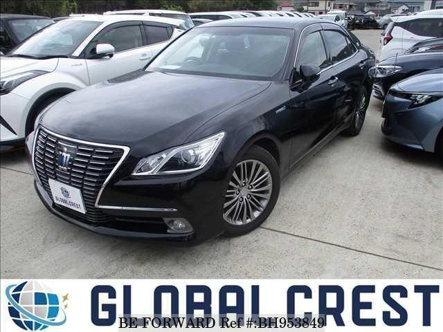 Used 2013 TOYOTA CROWN HYBRID BH953849 for Sale