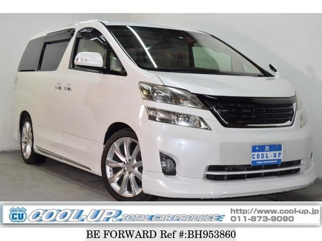 Used 2010 TOYOTA VELLFIRE BH953860 for Sale