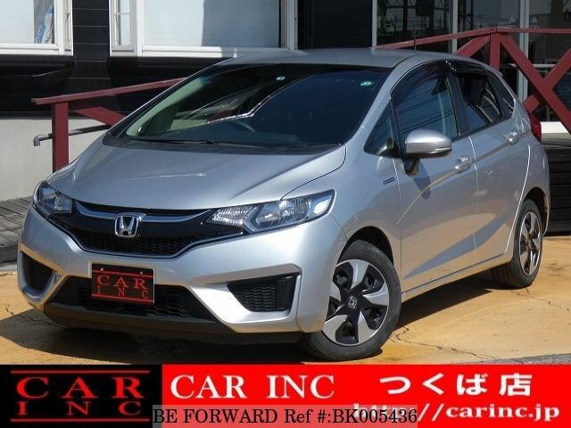 Used 2016 HONDA FIT HYBRID BK005436 for Sale