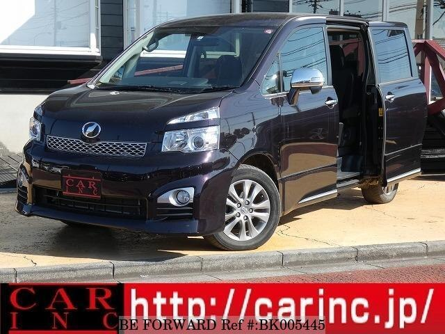 Used 2012 TOYOTA VOXY BK005445 for Sale