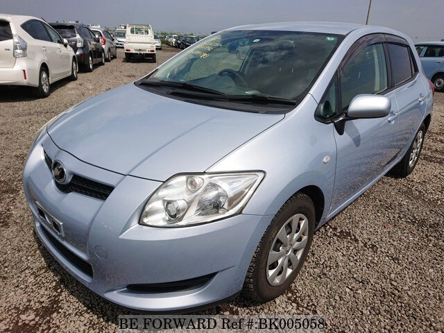 Used 2008 TOYOTA AURIS BK005058 for Sale
