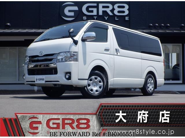 Used 2019 TOYOTA HIACE VAN BK005551 for Sale
