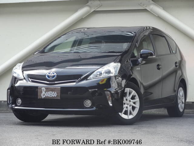 Used 2012 TOYOTA PRIUS ALPHA BK009746 for Sale