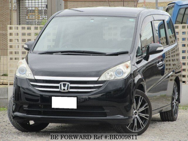 Used 2008 HONDA STEP WGN BK009811 for Sale