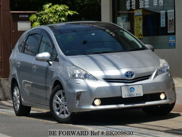 Used 2012 TOYOTA PRIUS ALPHA BK009830 for Sale
