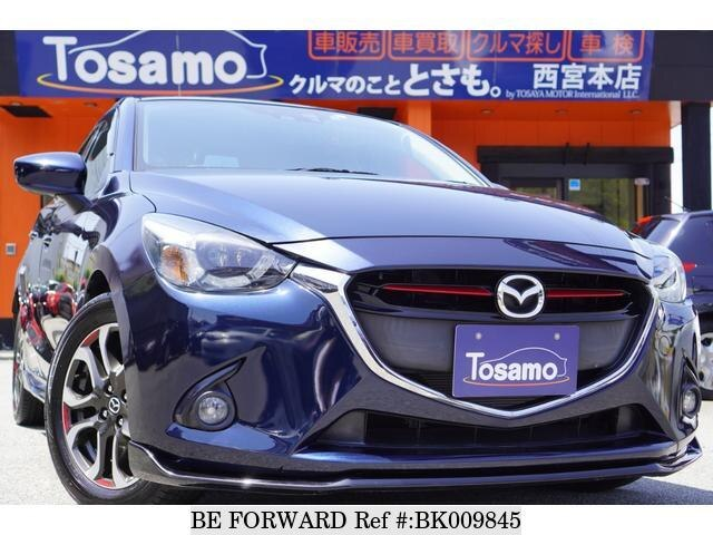 Used 2015 MAZDA DEMIO BK009845 for Sale