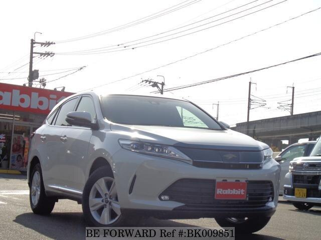 Used 2018 TOYOTA HARRIER BK009851 for Sale