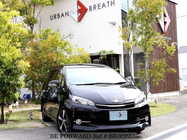 Used 2015 TOYOTA WISH BK009909 for Sale