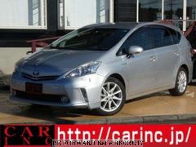 Used 2012 TOYOTA PRIUS ALPHA BK009917 for Sale