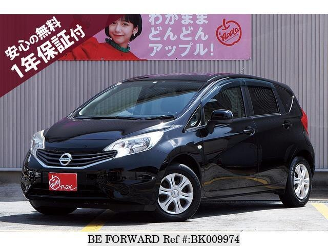 Used 2012 NISSAN NOTE BK009974 for Sale
