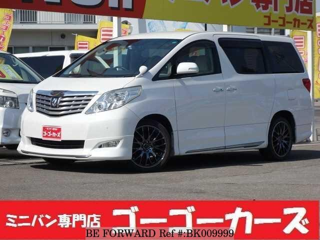 Used 2008 TOYOTA ALPHARD BK009999 for Sale