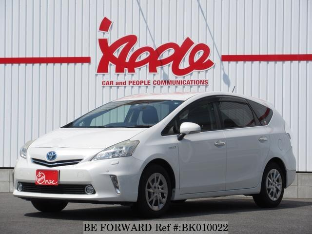 Used 2013 TOYOTA PRIUS ALPHA BK010022 for Sale