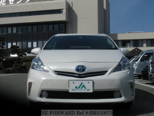 Used 2013 TOYOTA PRIUS ALPHA BK010073 for Sale