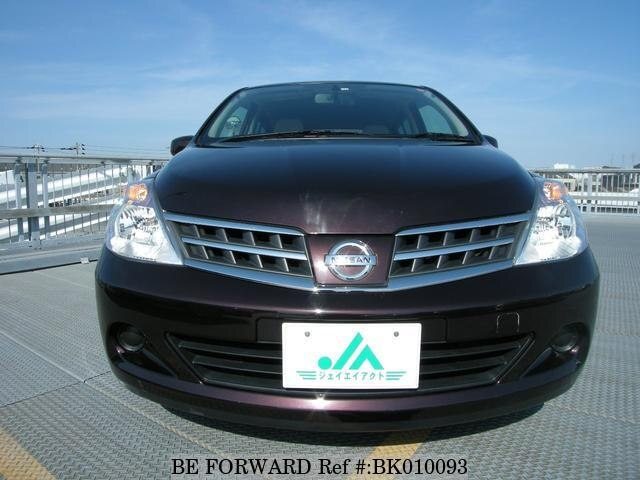 Used 2010 NISSAN TIIDA BK010093 for Sale