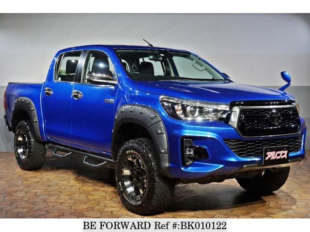 Used 2018 TOYOTA HILUX BK010122 for Sale