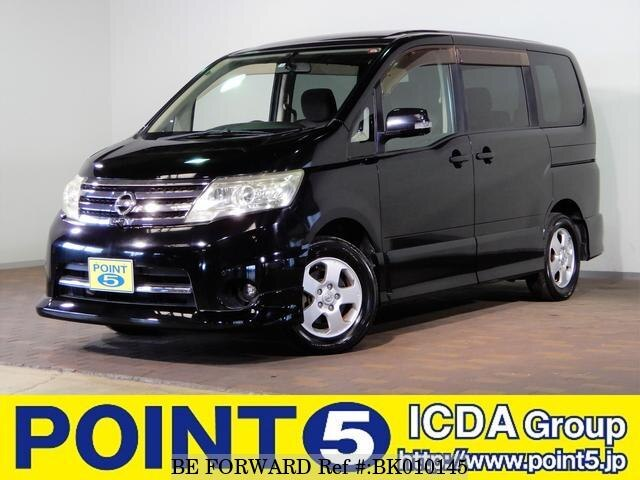 Used 2008 NISSAN SERENA BK010145 for Sale