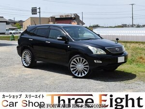 Used 2007 TOYOTA HARRIER BK010235 for Sale