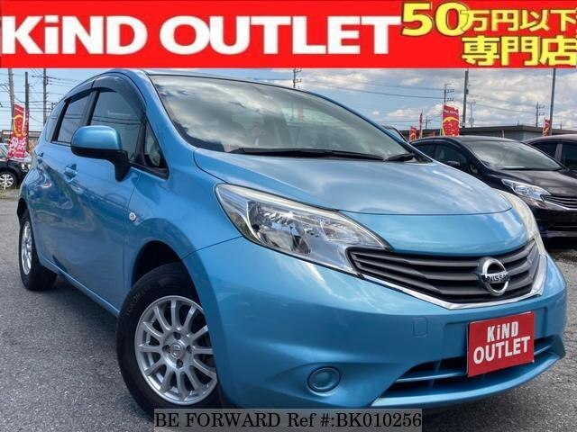 Used 2012 NISSAN NOTE BK010256 for Sale