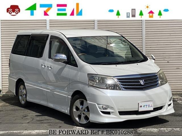 Used 2008 TOYOTA ALPHARD BK010288 for Sale