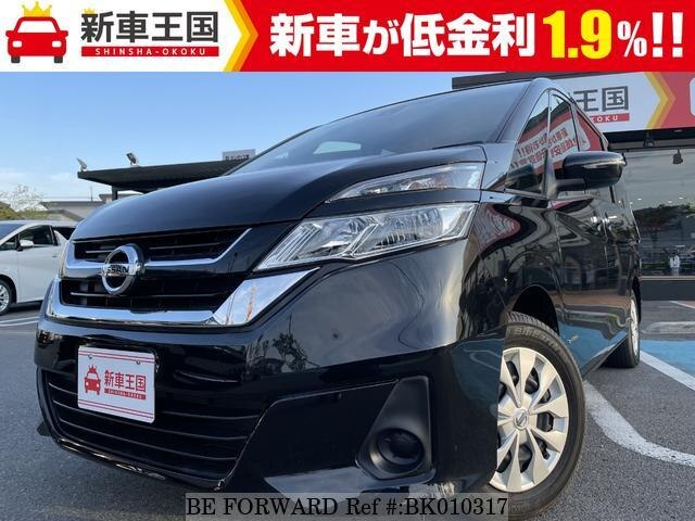 Used 2019 NISSAN SERENA BK010317 for Sale