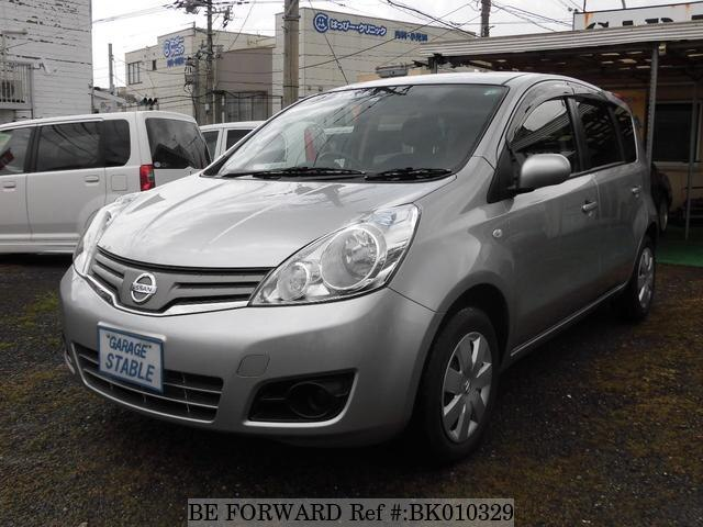 Used 2010 NISSAN NOTE BK010329 for Sale
